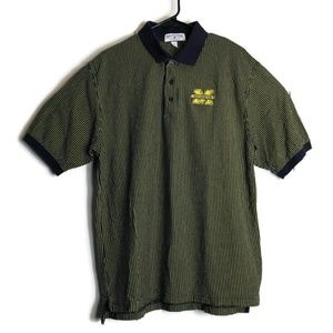 Boca Classics Michigan Wolverines Polo Rugby Shirt